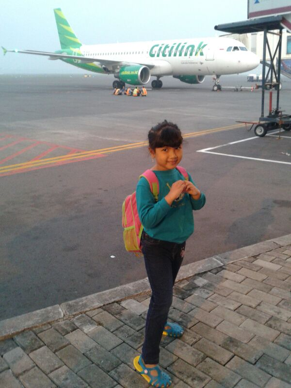 Nadia .. ready to explore Lombok :)