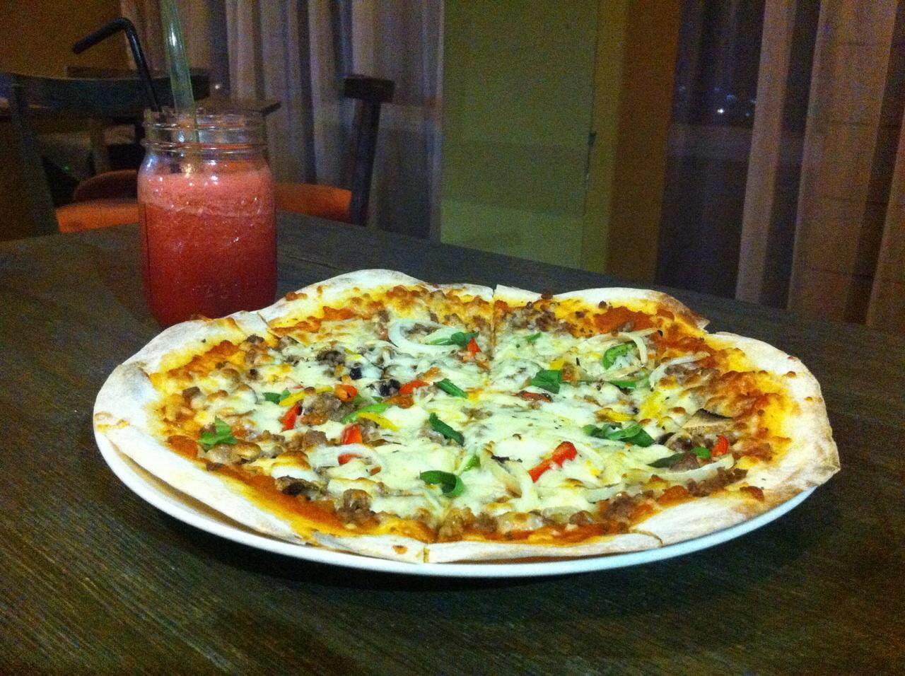 Pizza nya juara :)
