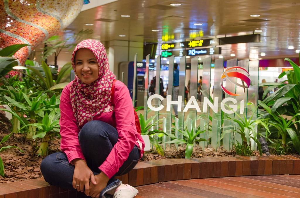 bukan hoax ya, beneran di Changi neh :P