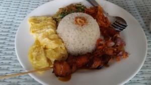 nasi Bali, menu andalan Deqiko