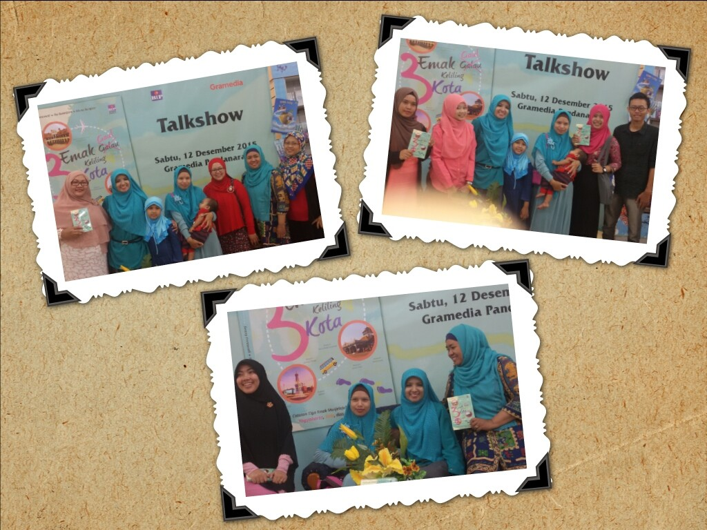 makasih buat emak2 Semarang dan mahasiswaku untuk kedatangannya :)