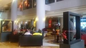 Grand Candi Hotel lobby area