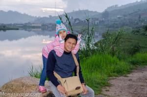 camping di telaga Cebong, Wonosobo