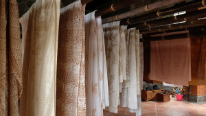 proses penjemuran kain
