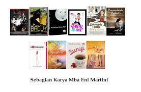 beberapa novel karya Eni Martini