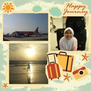 Nadia mudik ke Aceh :)