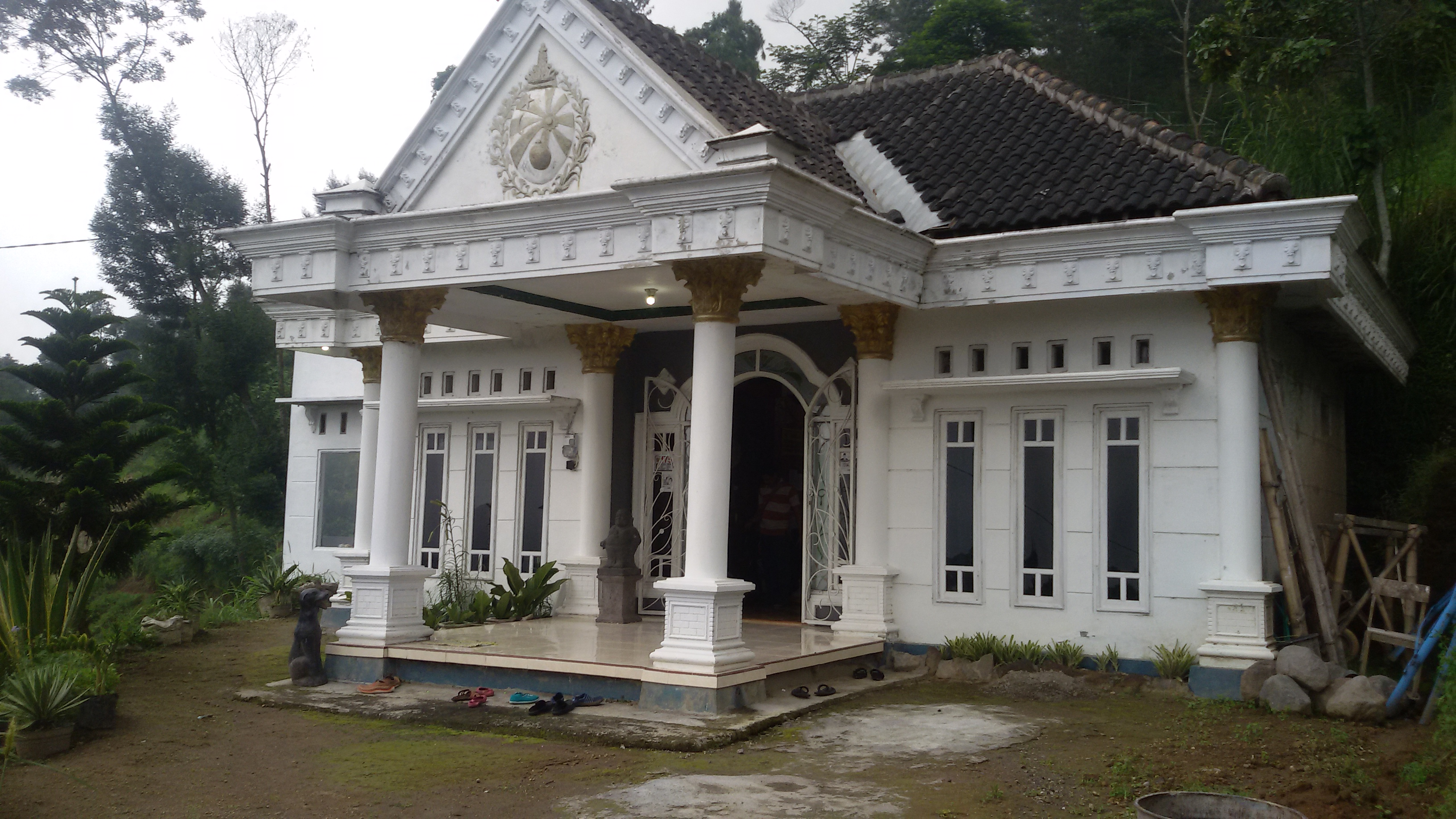 Homestay Sanjaya tempat kami menginap