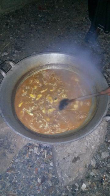 kami masak kuah beulangong saat lebaran kemarin