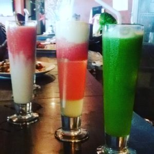healthy and fresh juices