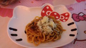 spagheti bolognaise pesanan Nadia