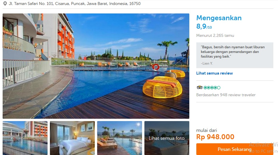 best price calendar traveloka