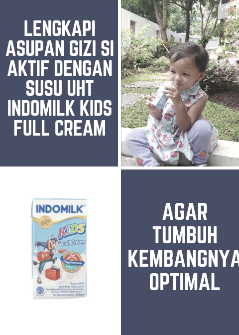 UHT Indomilk Kids Full Cream