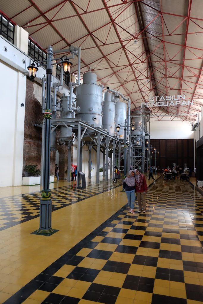 Stasiun Penguapa Pabrik gula De Tjomomadoe