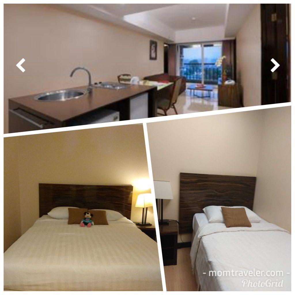 tipe kamar condotel di Aston Braga, Bandung